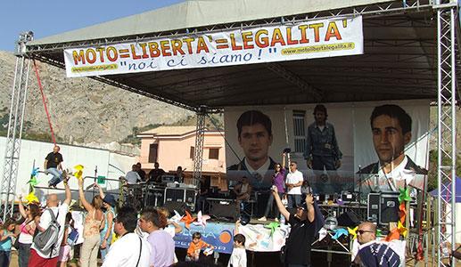 2009 – Tour della Legalità (Sicilia)