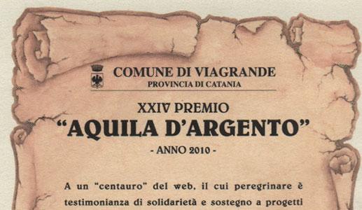 Viagrande (CT) Aquila d'Argento 2010