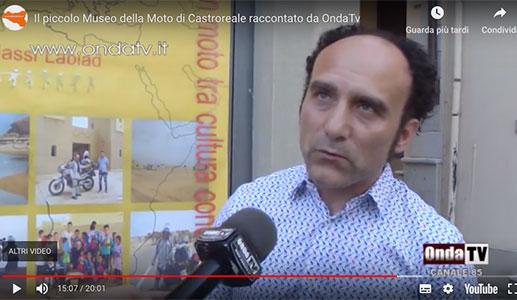 Il piccolo Museo della Moto di Castroreale raccontato da OndaTv